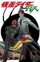Kamen Rider Black RX Cover by BryanValenza
