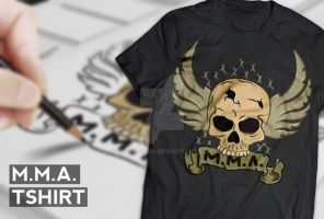 MMA Tshirt Final by snkdesigns