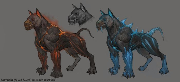 1509_hell hound by alswns3421