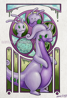 Mucha Goodra by muepin