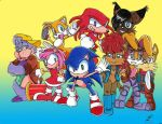 Sonic and the Freedom Fighters by Ochan32