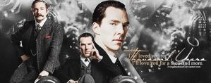 A thousand years || Johnlock by LivingDeadSmurf