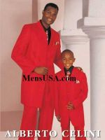 FunFather and Son Fashion Suits from mensusa by mensusasuits