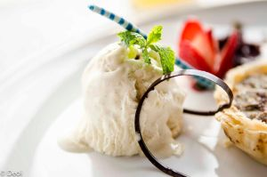 Ice Cream With Chocolate and Mint by DeoIron