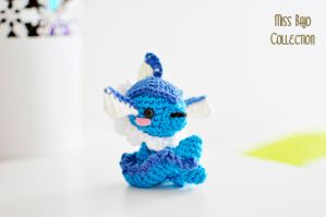 Vaporeon by MissBajoCollection