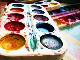 Water-colours by MorgenNeonSonne