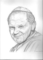 Pope John Paul 2 by donna-j