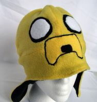 Jake the Dog Fleece Hat by Usagi-CRI