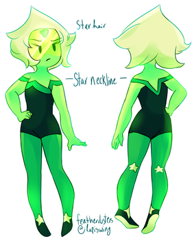 peridot re-design by featherdusters