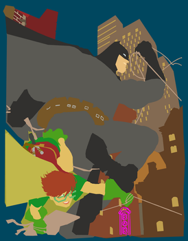 dark knight by paulosiqueira-d4tqk9y Flats by Me by LadyRavenclaw16