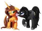 Autumn and Thunder Hooves by Centchi