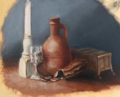 WIP  still life progress shot 6 by highlandheart1968