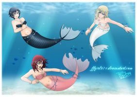 CONTEST Mermaid by FFgirl974