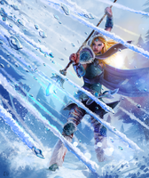 Crystal Maiden - Dota 2 by entroz