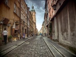 street in the old town by HeretyczkaA