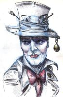 my friend as the Mad Hatter by Methiston