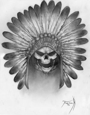Tattoo Drawings of Skulls