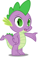 Vector #169 - Spike #7 by DashieSparkle