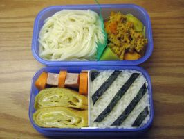 Simple Bento by sake-bento