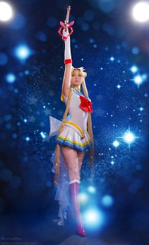 Super Sailor Moon by Usagi-Tsukino-krv