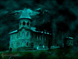 vampire castle by GbPixel