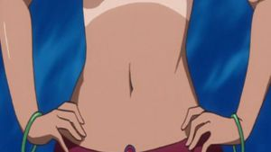 Anime Belly button 48 by asdfguy45623