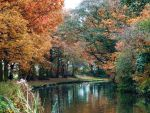 Autumn Canal Retouched by WhiteWolfStock