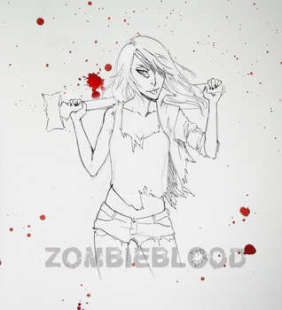 Are They Dead Yet? Sketch 001 by zombieblood