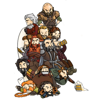 Thorin King Under the Dwarves. by jujulupe