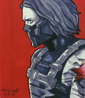 The Winter Soldier / Bucky Barnes by Taking-meds