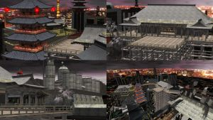 DOA5 Stage Tokyo by rolance