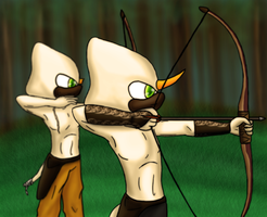 Archers :CP: by SleeplesslyDreaming