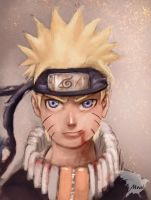Naruto quick paint by Mrahart