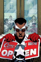Captain America and the Mighty Avengers #2 by whoisrico