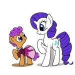 Scootaloo by Rarity by DocWario