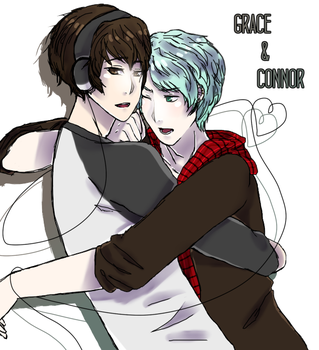 Grace and Connor by iAryvn