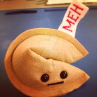 Misfortune Cookie: Meh by kimchikawaii