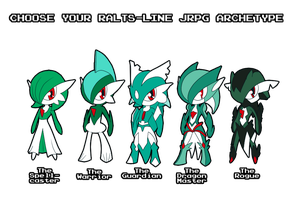 Choose Your Ralts-Line RPG Archetype by ShadowScarKnight