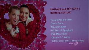 Santana and Brittany Playlist by Klaineisbest