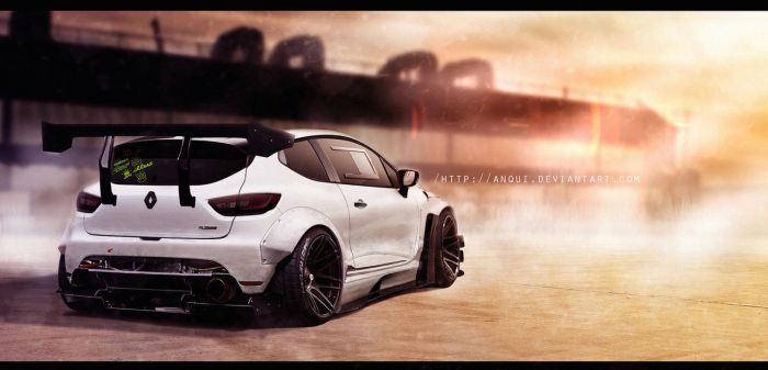 Renault Clio Rs Rocket Bunny by aNqUi