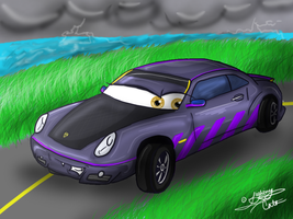 The Porsche Cayman is GRRANNDD by LightningCato