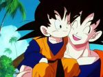me and my papa by Goten-plz