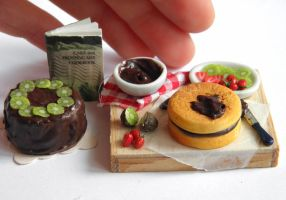 Cake Making Miniature by vesssper