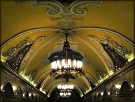 Art of Moscow Metro. 16. by VeIra-girl