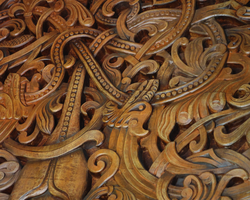 Intricate Wood Carving by PeacefulSeraph