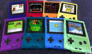 Gameboy Pillows by Arnixia