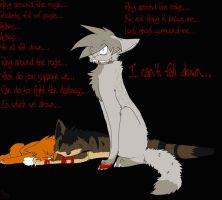 Lost Ghosts Surround Me... by Rainfire02