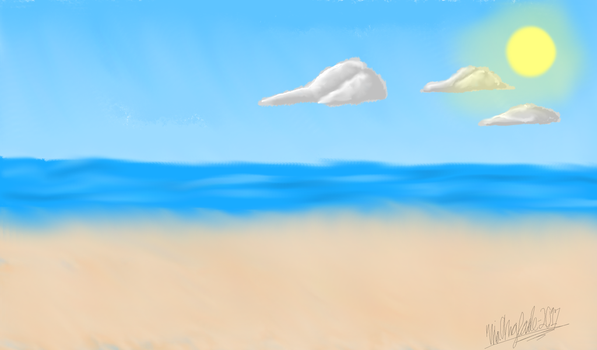 The beach redo by Niaarts459