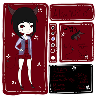Alice Reference Sheet by The-Insane-Puppeteer