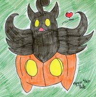 Pokemon- Pumpkaboo by FlygonPirate